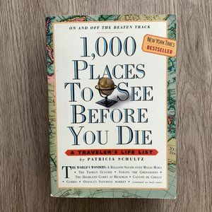 1,000 Places to See Before You Die Book